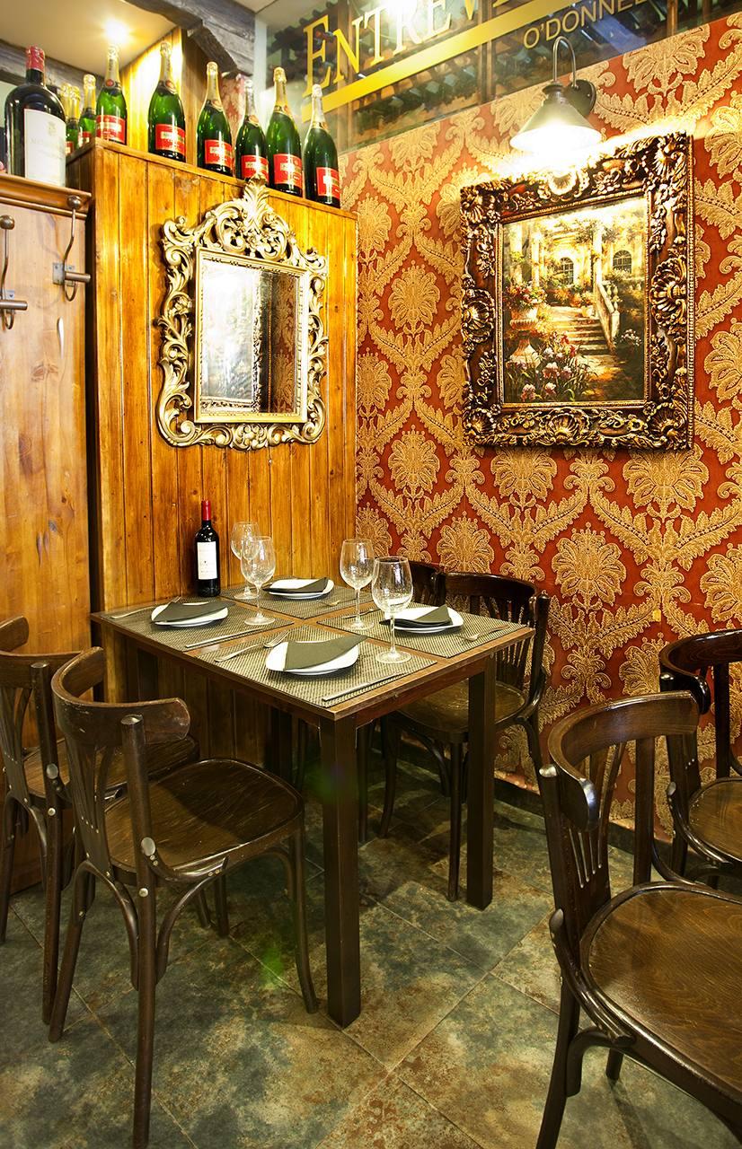 Restaurante Entrevinos - fotografía Andreas Grunau