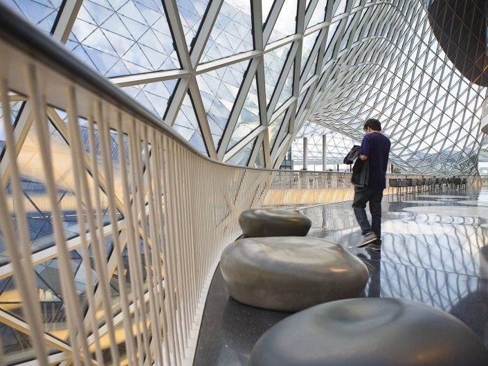 Centro comercial MyZeil - fotógrafo Andreas Grunau - realidad virtual para inmobiliarias