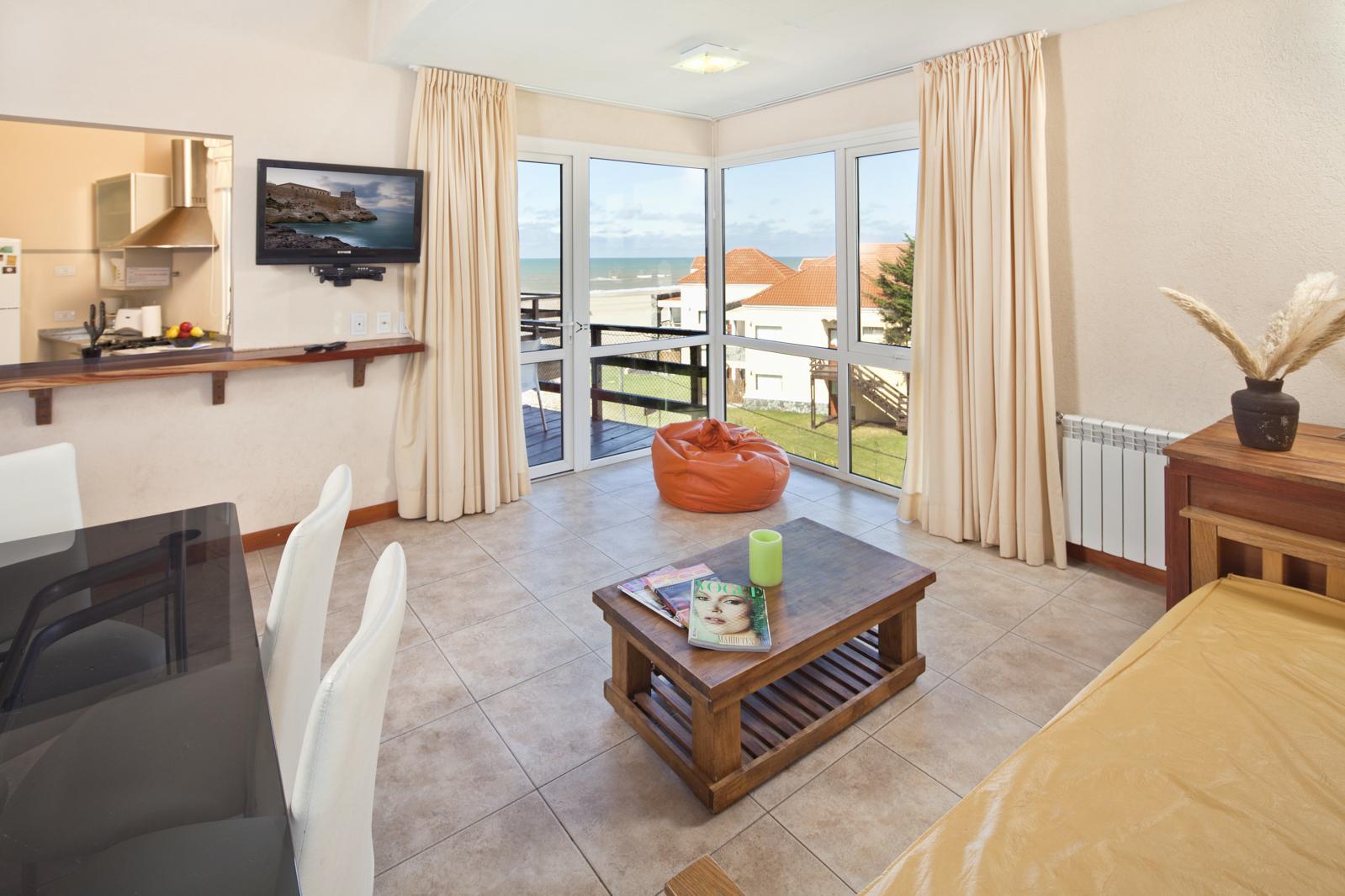 departamento con vistas al mar en hotel Alta Playa