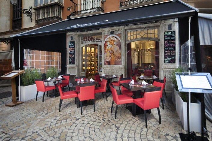 Restaurante en malaga - fotografía de restaurante