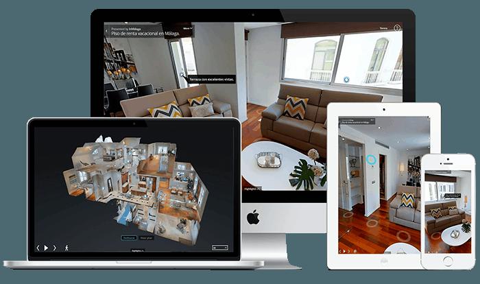 visitas 3d para inmobiliarias, fotografo andreas grunau, realidad virtual para inmobiliarias