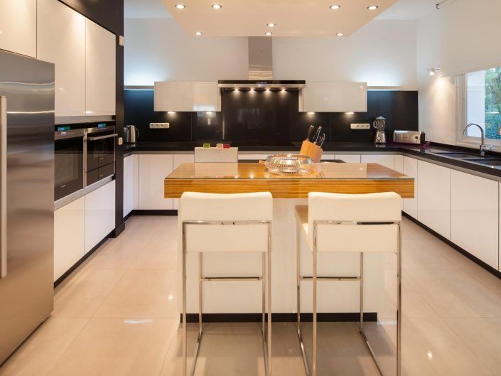 cocina moderna, casa de lujo, fotografo andreas grunau