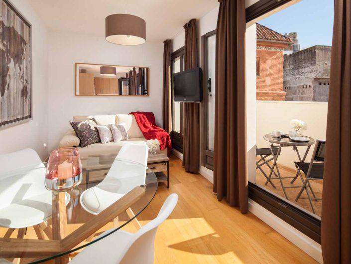 apartamento con terraza, fotografia de interiorismo, andreas grunau, fotografo profesional
