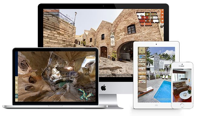 fotografo de visitas virtuales, visitas virtuales interactivas, multidispositivo