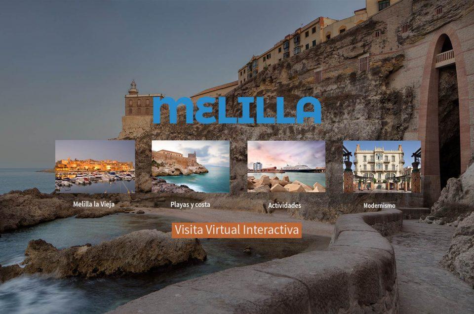 visita virtual de melilla, melilla turismo, turismo melilla, visita 360, visita interactiva, andreas grunau