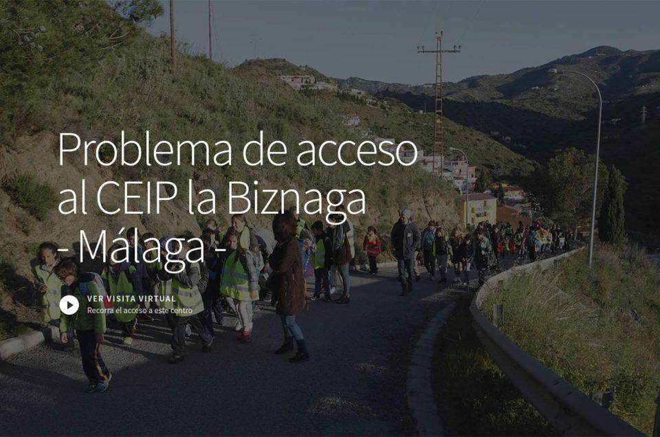Acceso al CEIP la Biznaga