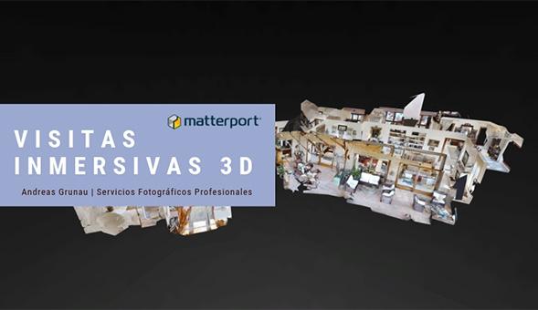 Visitas Inmersivas Matterport