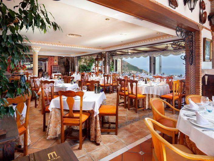fotografo de restaurante, restaurante alcazaba mijas