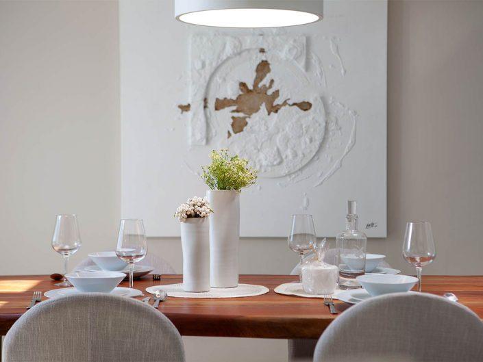 fotografo de interiorismo detalle de mesa decorada