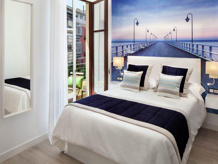 dormitorio apartamento turistico, fotografo de pisos turisticos