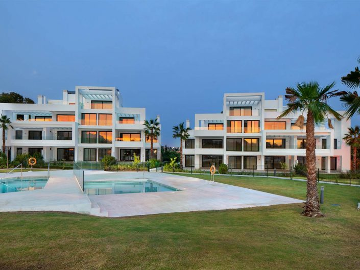 fotografo de arquitectura en Marbella, promoción terrazas de atalaya
